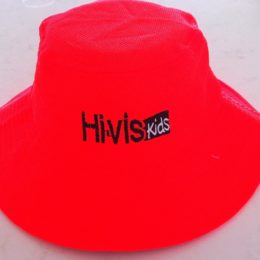 Quality safety hats for children l Hi-vis kids Hat - Orange